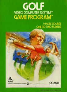 Jeu - Golf - Atari 2600