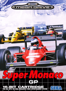 Jeu - Super Monaco GP - Mega Drive