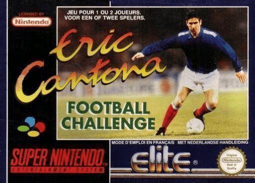 Jeu - Eric Cantona - Football Challenge - SNES