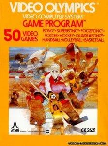 Jeu - Video Olympics - Atari 2600