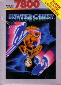 Jeu - Winter Games - Atari 7800