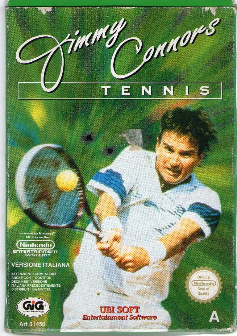 Jeu - Jimmy Connors - Tennis - NES